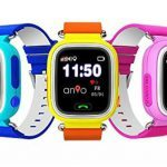 GPS Kinderuhren - Kinderortung per GPS Tracker Smartwatch, hier ANIO TWO WLAN TOUCH
