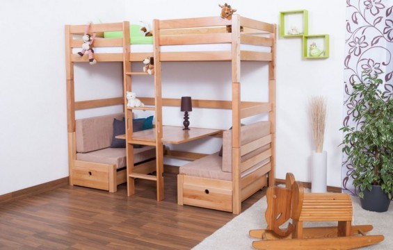 kinder hochbett selber bauen wt68 hitoiro. Black Bedroom Furniture Sets. Home Design Ideas