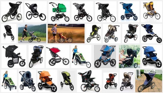 Jogger Kinderwagen - Screenshot Google Bildersuche am 29.07.2015