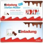 """Einladungskarte im """"Kinder Schokolade""""-Look (Screenshot https://www.kartenmachen.de/einladungskarten-schokolade-fur-kinder.html am 31.12.2015)"""