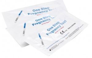 One Step Pregnancy Test - 20 höchstempfindliche Schwangerschaftsteststreifen, die ab 10miu/ml hCG anspringen (bei Amazon)