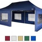 3x6m wasserdichter Faltpavillon von STILISTA® - bei entsprechendem Budget eine feine Lösung