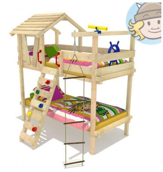 Wickey Etagenbett Jungle Hut Duo - Schlafplatz von zwei Kindern in Spielplatz-Optik (Amazon, ab 420 EUR am 10.02.2015)