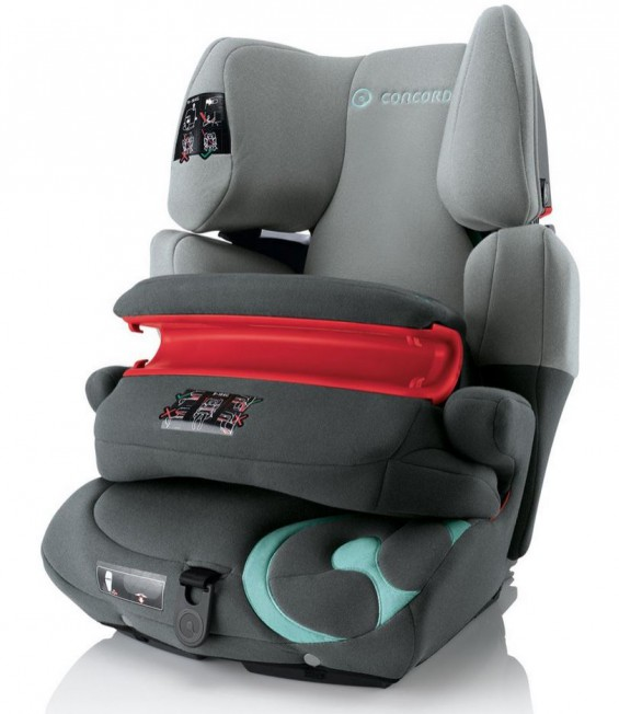 Concord Transformer Pro - Kindersitz für 9-36kg, Normgruppe 1-2-3