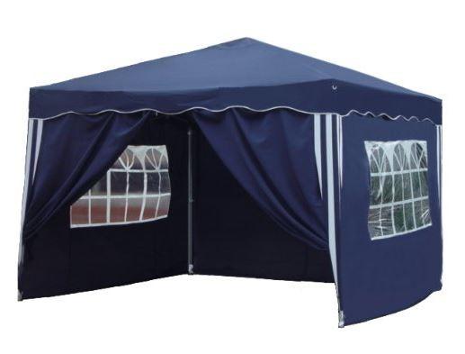 Falt Pavillon 3 x 3 m in blau mit 4 Seitenteilen - 118 Kundenrezensionen mit im Durchschnitt 4.0/5 Sternen - 82,95 EUR am 18.03.2015 zzgl. 4,95 EUR Versand bei Amazon
