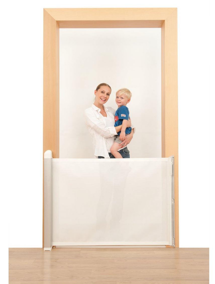 Tür- und Treppenschutz per Rollo: Lascal 12504 KiddyGuard Avant Absperr-Rollo für Türen und Treppen (Amazon)