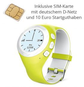 Lokato Kidswatch: GPS Smart Watch Uhr für Kinder mit SIM-Karte (Amazon)