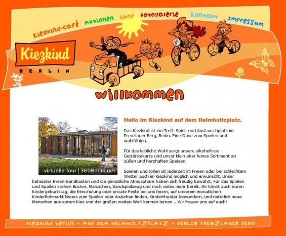 Das Kiezkind ist ein Treff- Spiel- und Austauschplatz im Prenzlauer Berg, Berlin. Eine Oase zum Spielen und wohlfühlen. (www.mein-kiezkind.de)
