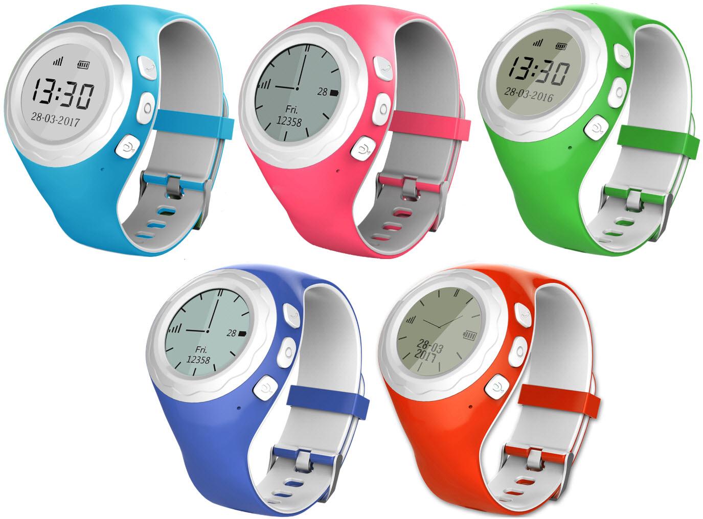 Die PINGONAUT PANDA GPS Kind-Smartwatch gibt es in fünf Farben bei smartwatch.de