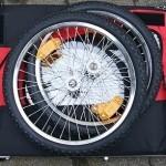 Der RED LOON T2 Jogger - platzsparend zusammengelegt (Klick führt zum Produkt bei Amazon)