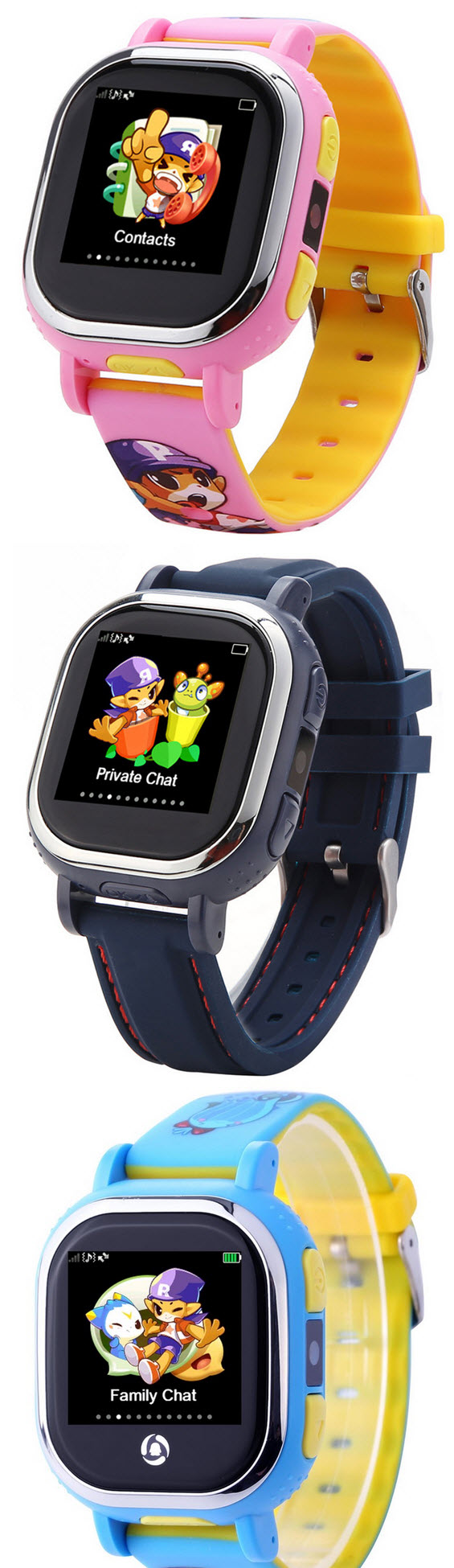 Smart-Watch für Kinder-Ortung: TENCENT QQ TOUCH