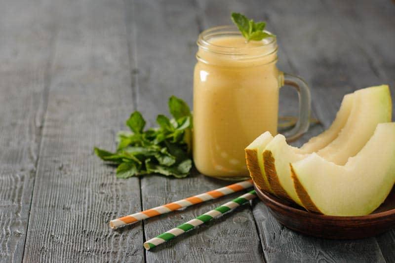 smoothie-Honigmelone-Birne