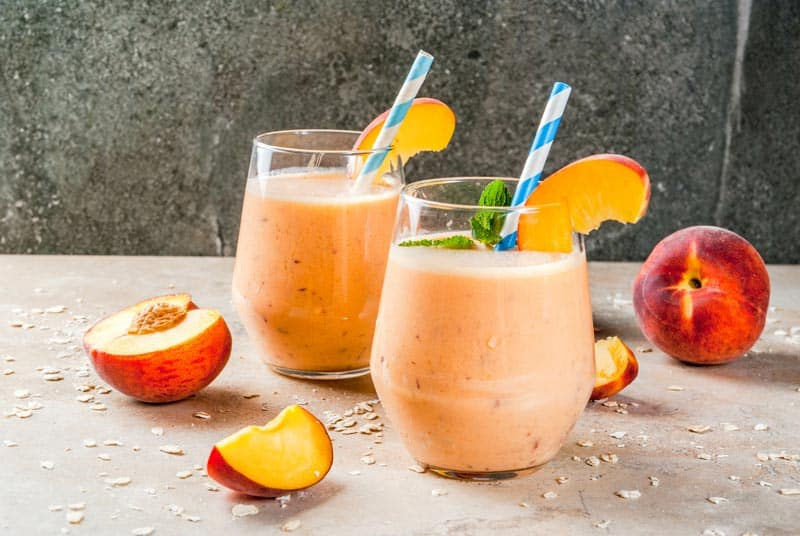 smoothie-Pfirsich-Birne-Joghurt