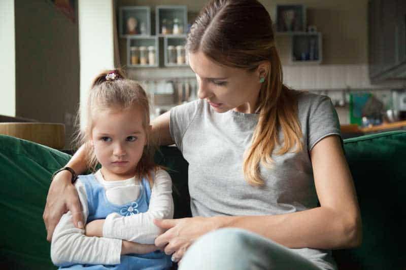 überfürsorglichen Eltern