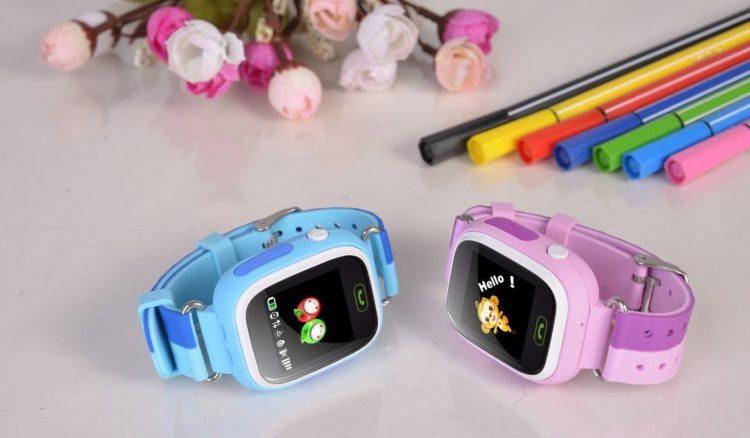 Kinderuhren mit Pfiff: Vidimensio GPS-Tracker-Uhr 'Kleiner Affe' für Jungen und Mädchen