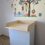 Wickelaufsatz 13 cm hoch für Ikea Malm Kommode (39,90 EUR + 7,90 EUR bei Amazon)